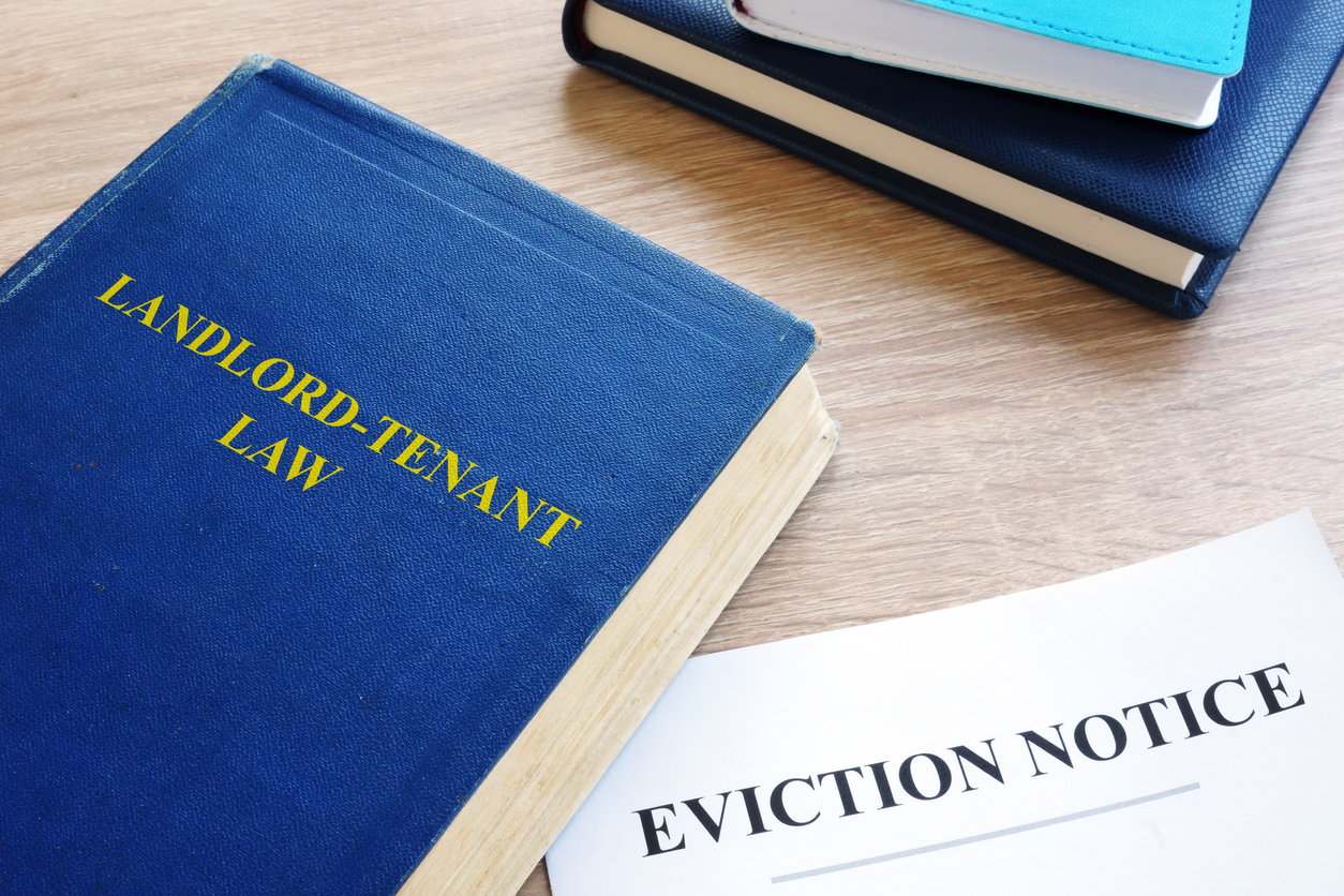 Landlord-Tenant Law and eviction notice